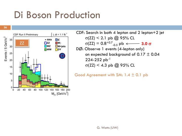 Di Boson Production