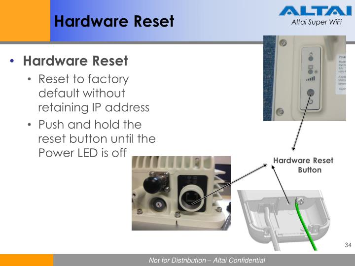 Hardware Reset