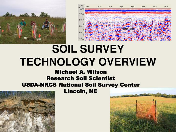 soil survey technology overview n.