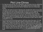 plot line climax