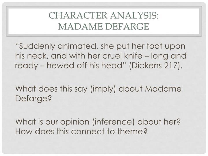 Character Analysis: