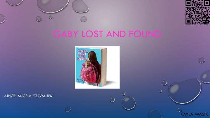 gaby lost and found n.