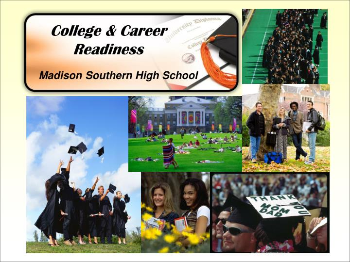college career readiness n.