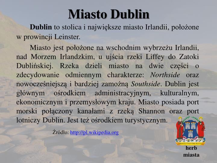 Miasto Dublin
