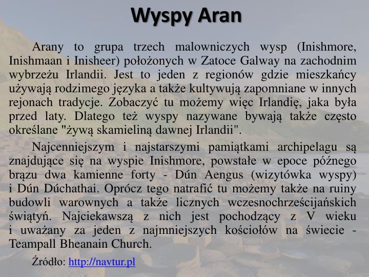 Wyspy Aran