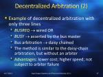 decentralized arbitration 2