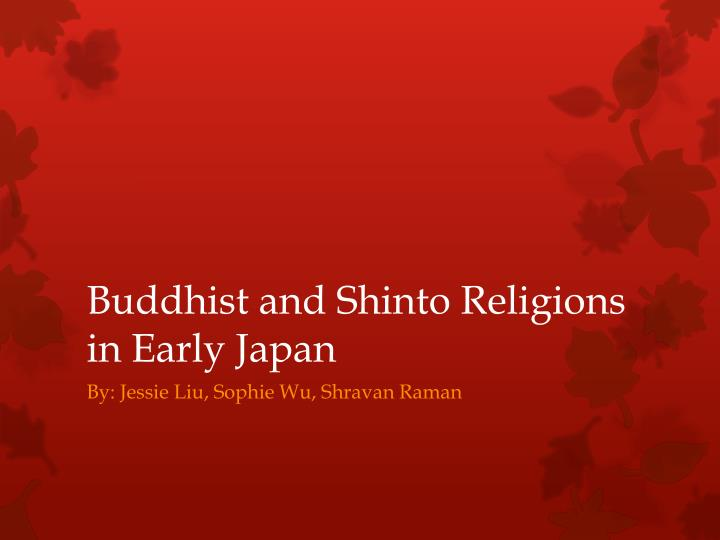 early japanese religion