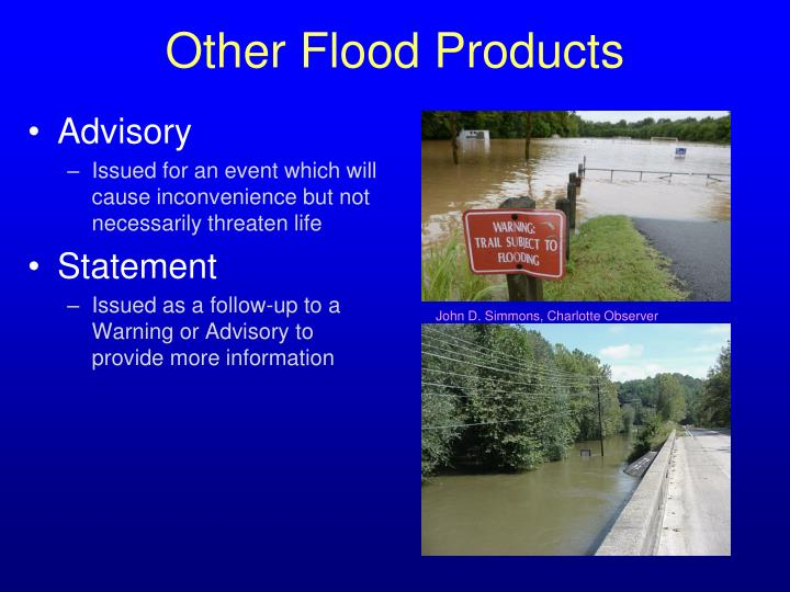 Other Flood Products