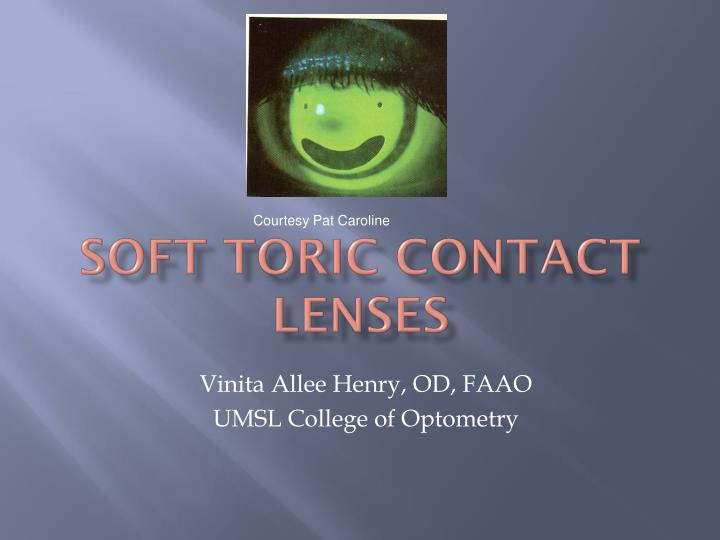soft toric contact lenses n.