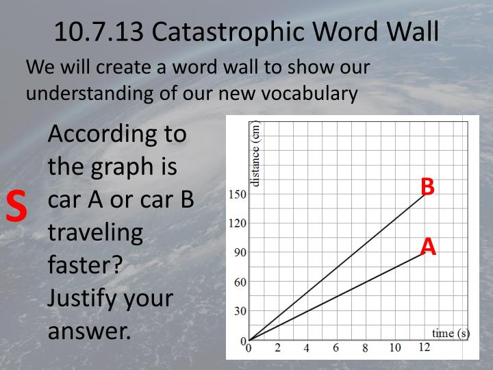 10 7 13 catastrophic word wall n.