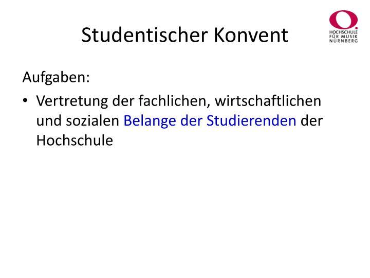 Studentischer Konvent
