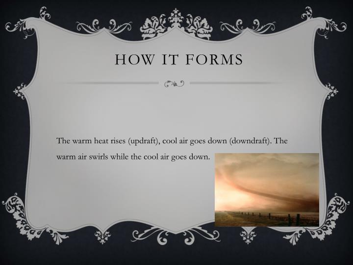 How it forms