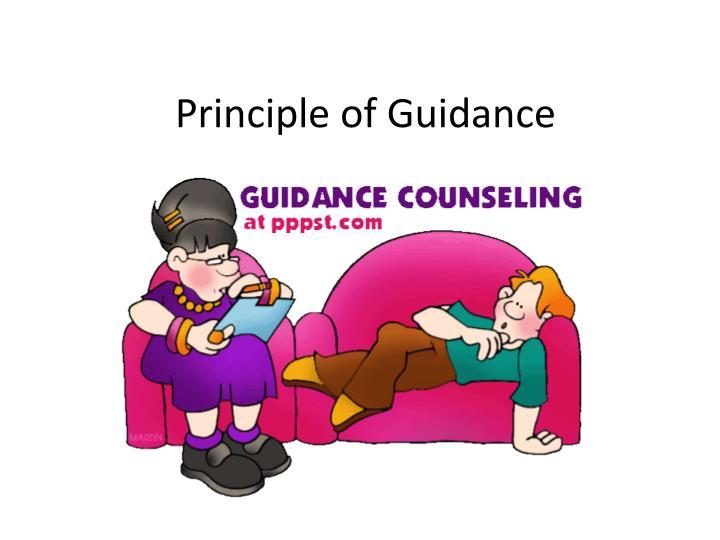 Principle of Guidance