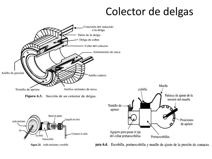 Colector de delgas