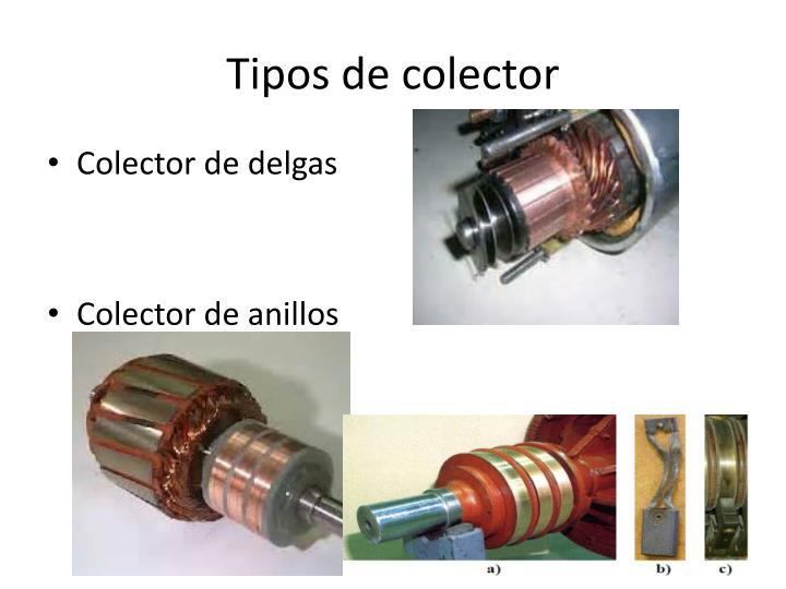Tipos de colector