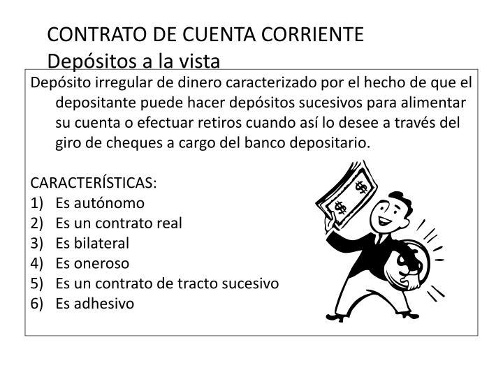 CONTRATO DE CUENTA