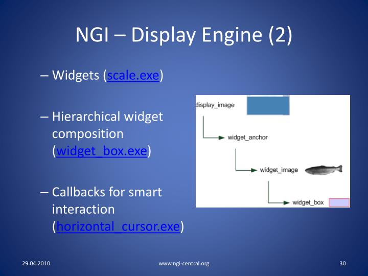 NGI – Display Engine (2)