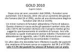 gold 2010 eugenio sabato