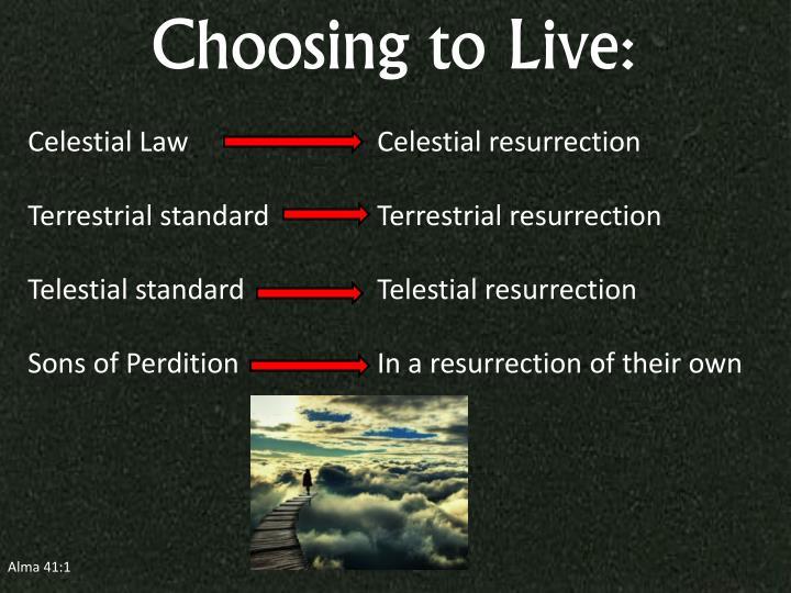 Choosing to Live: