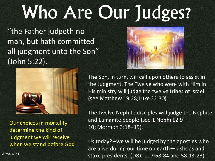 Who Are Our Judges?