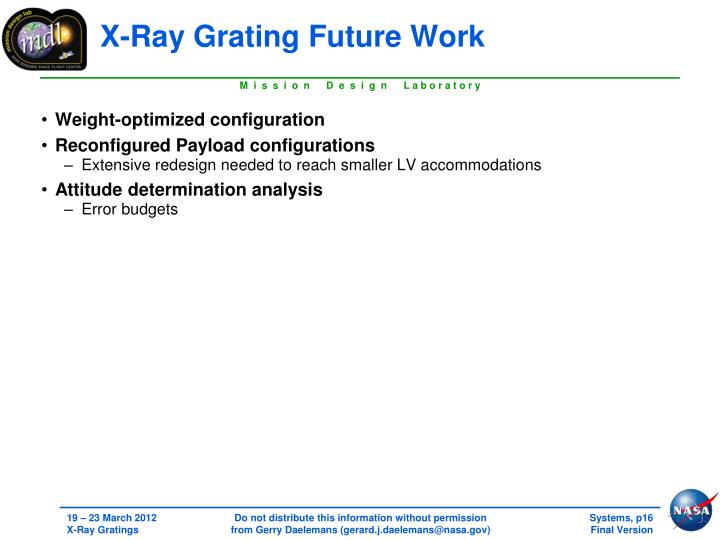 X-Ray Grating
