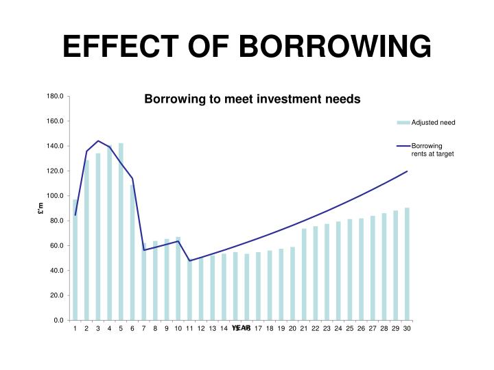 EFFECT OF BORROWING