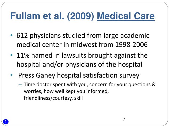 Fullam et al. (2009)