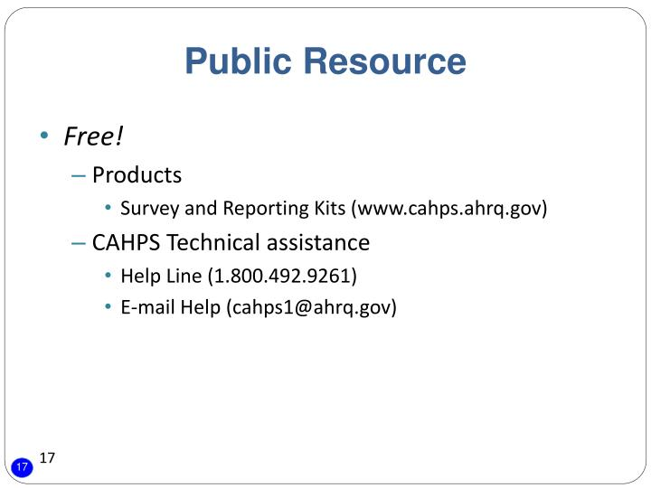 Public Resource
