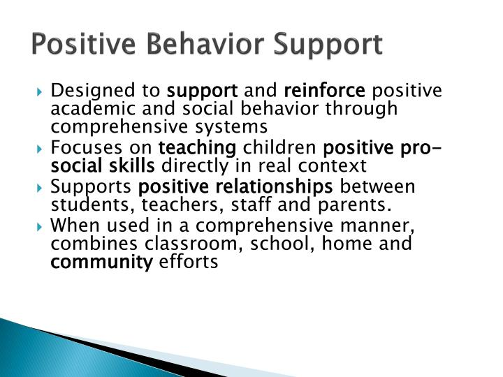 response to intervention (rti) and positive behavior support (pbs) essay Response to intervention has become the most recent initiative for education that schools use to demonstrate student progress by conducting types of it is clear that all teachers must learn about rti because it is required however it is crucial for teachers to recognize the importance of rti and how it.