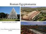 roman egyptomania
