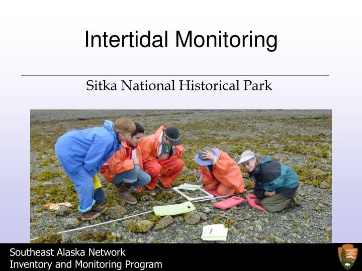 intertidal monitoring n.