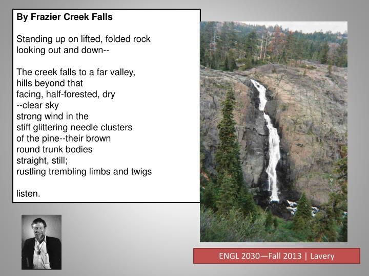 By Frazier Creek Falls