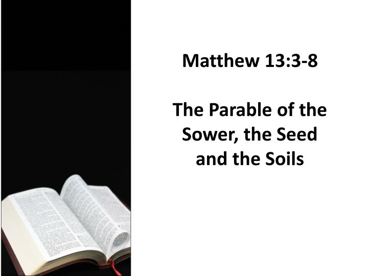 parable of the sower essay Essay about parable of the sower - adulthood: when is the turning point a fourteen year old male was brought into a court hearing for killing a young man in a drive by shooting the hearing is not to decide the criminals' punishment it is to decide whether he should be tried as an adult or as a juvenile.