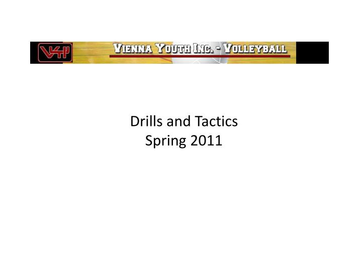 drills and tactics spring 2011 n.