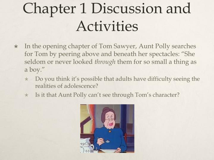 Chapter 1 Discussion and Activities