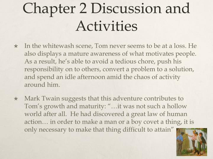 Chapter 2 Discussion and Activities