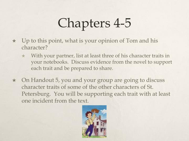 Chapters 4-5