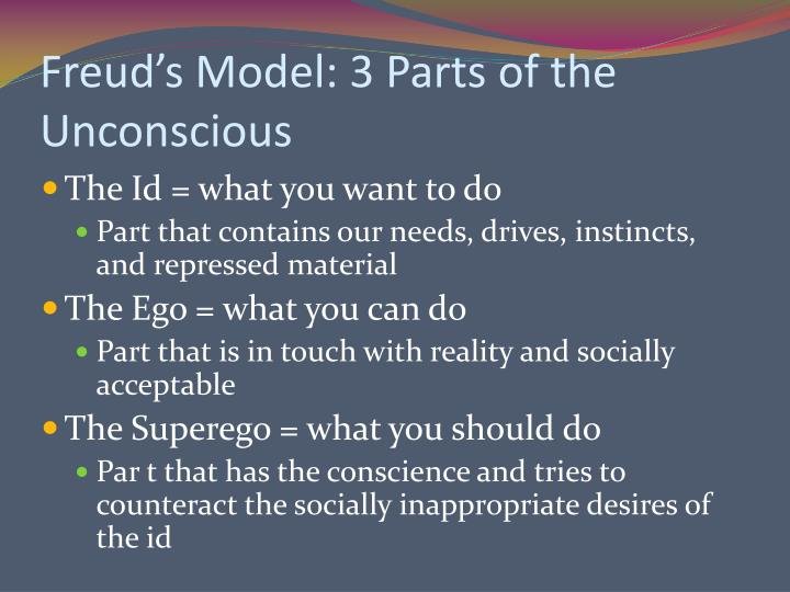freud and the unconscious Sigmund freud explored the human mind more thoroughly than any other who became before him his contributions to psychology are vast freud was one of the most.