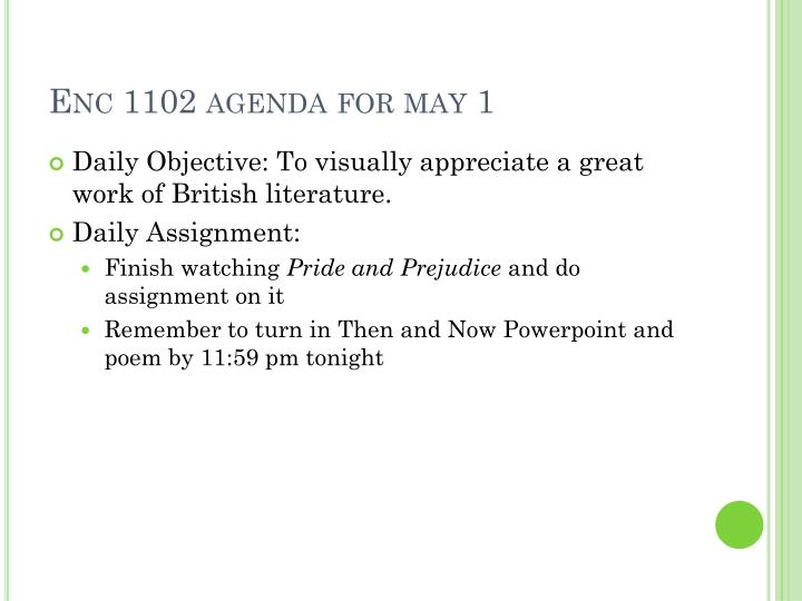 Enc 1102 agenda for may 1