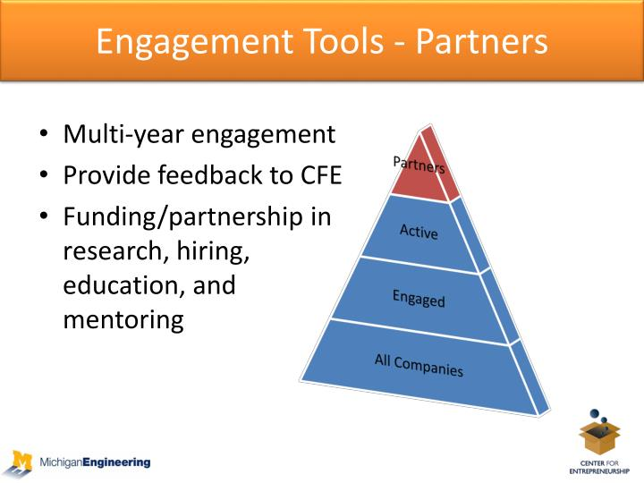 Engagement Tools - Partners