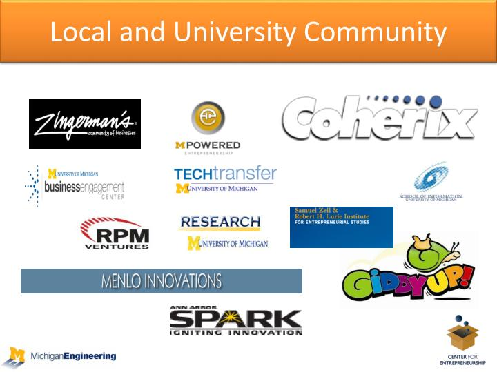 Local and University Community