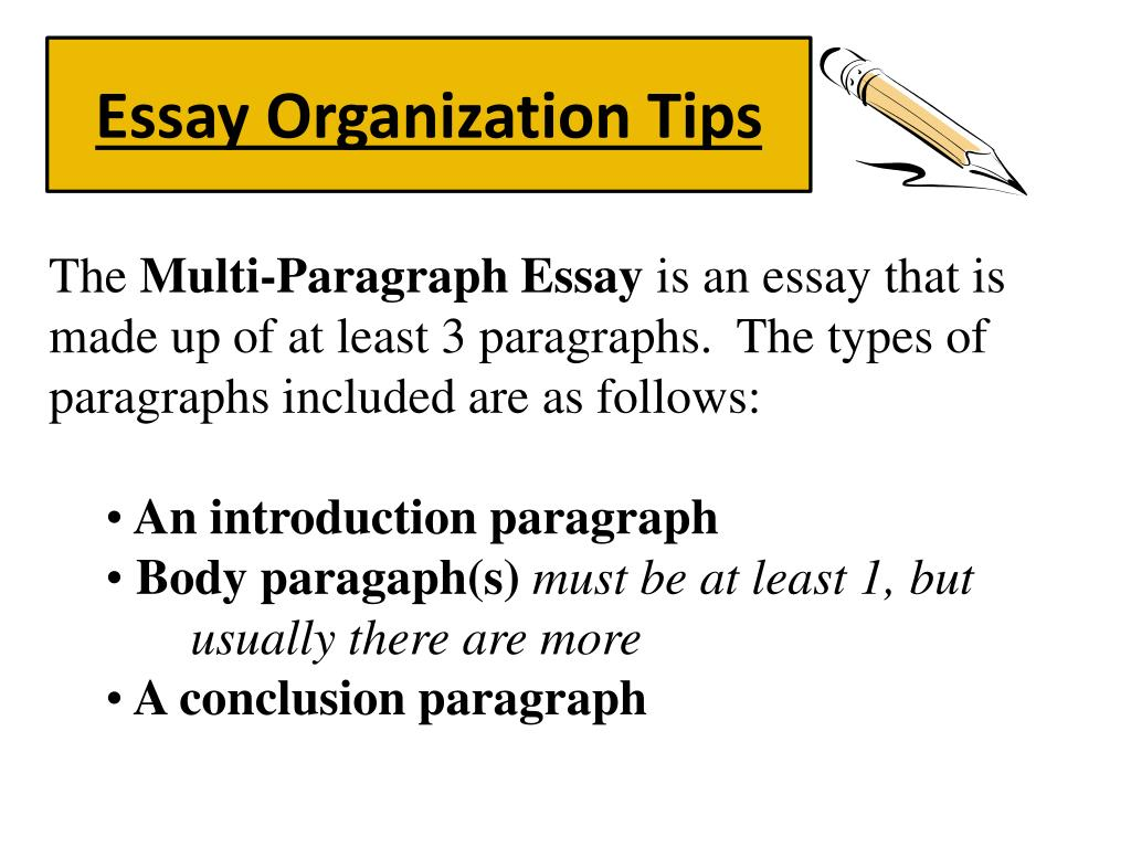 Essay Vs Paper Essay Organization Tips N Poverty Essay Thesis also Sample Apa Essay Paper Ppt  Essay Organization Tips Powerpoint Presentation  Id Response Essay Thesis