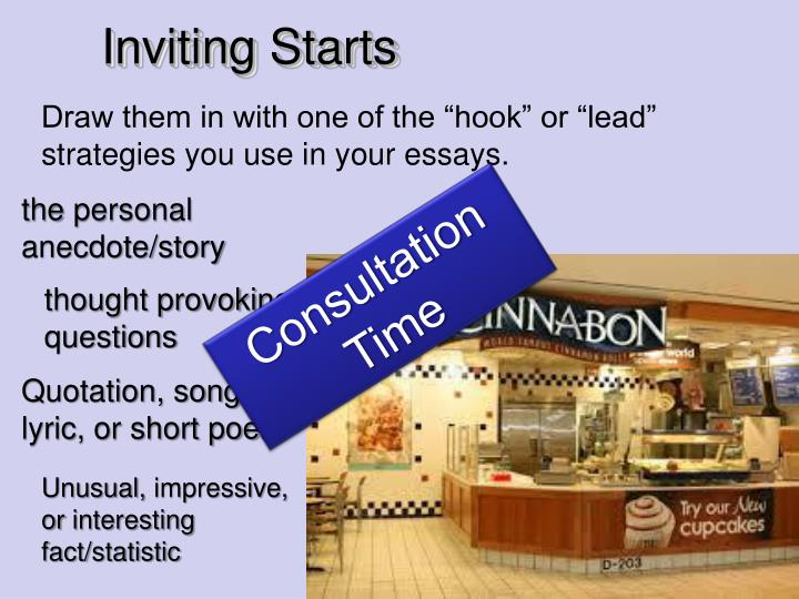 Inviting Starts