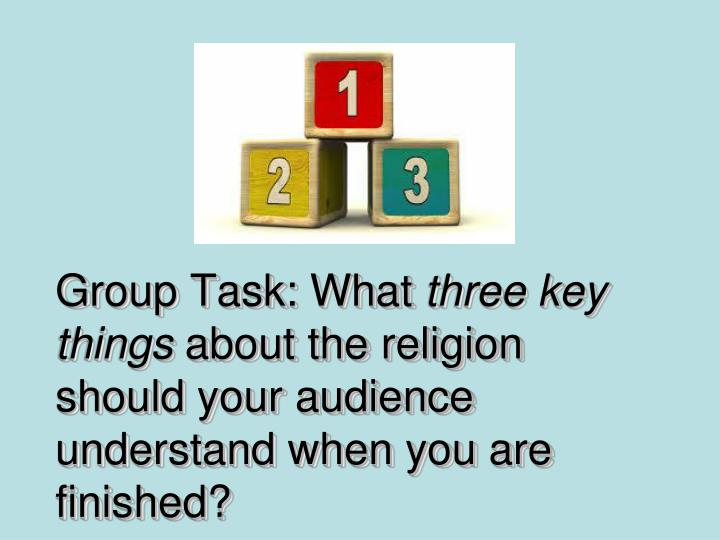 Group Task: What