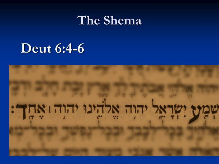 The shema1