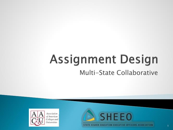 assignment design n.