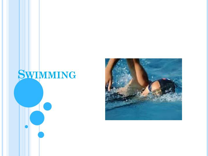 s wimming n.