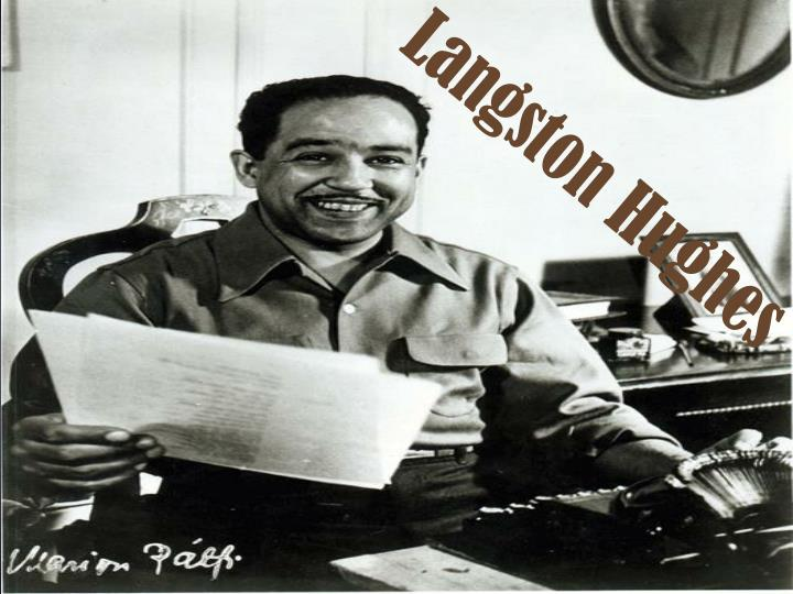 the early literary works of james langston hughes