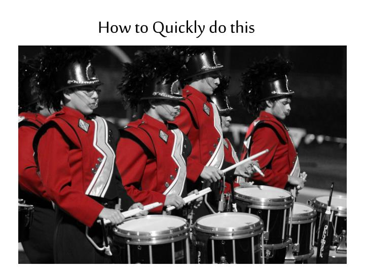 how to quickly do this n.