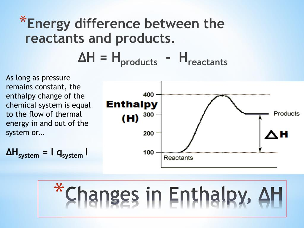 PPT - Molar Enthalpy PowerPoint Presentation, free ...